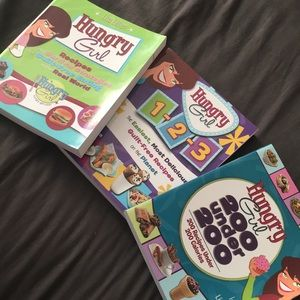 Hungry Girl by Lisa Lillien Recipe Books (3)